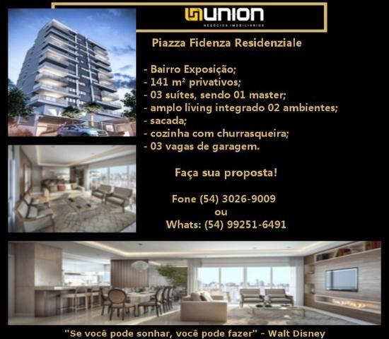 Oferta Imóveis Union! Apartamento de alto padrão no bairro Exposição, próximo ao centro!