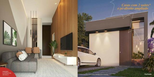 Canadá Houses Pé-direito ampliado de 4,10 metro no bairro Sim - Foto 5