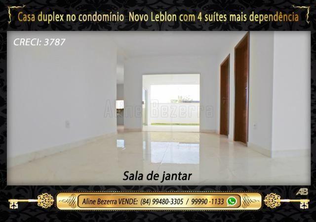 Duplex com 5 suítes no condomínio Novo Leblon, confira - Foto 3