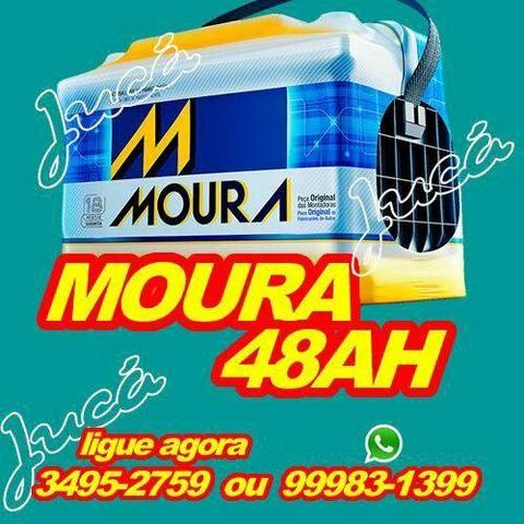 Moura 48 ah!!!! baterias em grandes ofertas e ainda acompanha os brindes