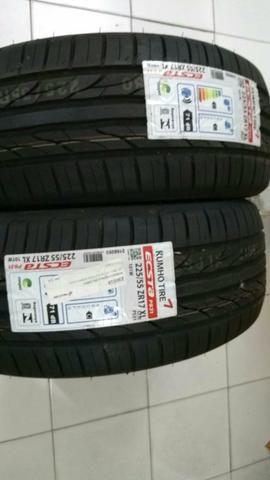 2 pneus NOVOS - Foto 2