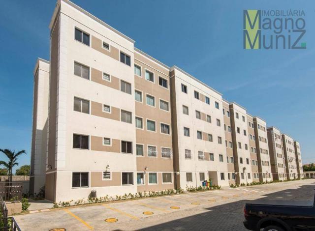 Apartamento com 2 dormitórios para alugar, 50 m² por r$ 600,00/mês - vila velha - fortalez
