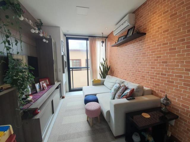 Apartamento com 2 dormitórios à venda, 57 m² - campeche - florianópolis/sc - Foto 3