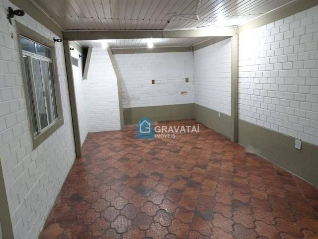 Apartamento com 1 dormitório para alugar, 120 m² por R$ 1.000/mês - Centro - Gravataí/RS - Foto 3