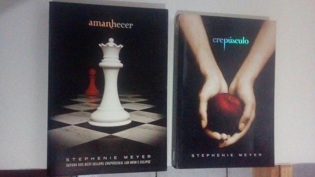 Livros Crepúsculo e Amanhecer
