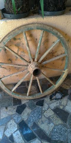 3 rodas de carroça - Foto 3