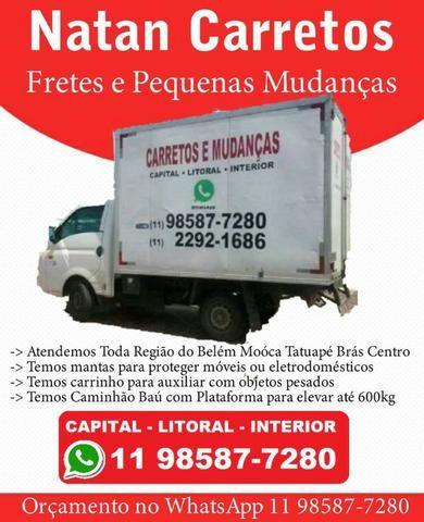 Carreto e Mudança - Belém - Mooca - Tatuapé - Centro - Vila Mariana - Ipiranga - Foto 2