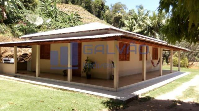 JG. Sítio de 234 mil m² com casa de 3 quartos com suíte em Marechal Floriano! - Foto 3