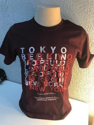Camiseta Apenas 15,00 em Algodão