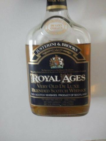 Whisky Royal Ages para colecionador - Estudo Proposta para levar hoje