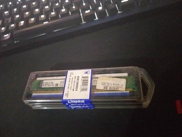 Memória DDR3 kingston 4gb x2