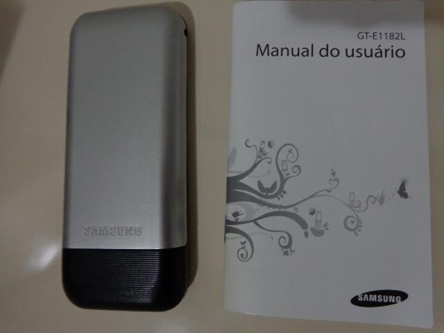 Celular Samsung E1182L - Seminovo - Baixo Guandu-ES - Foto 3