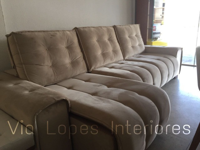 Sofa super fofão aqui na Via Lopes Interiores wpp 62 9  * - Foto 2
