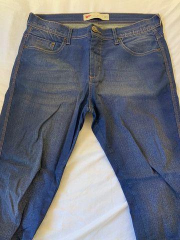 Calça Skinny azul 42 - Foto 2