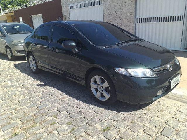 Honda Civic 2007 LXS carro extra !!!!!!!!!!!!!!!!!!!!!! - Foto 3