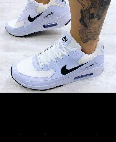 Sucesso de vendas. Air Max 90 da Nike. Estouro total 1 por 90.00rs 2 por 170.00rs - Foto 3