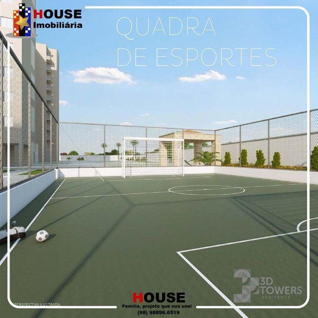 Condominio 3d towers, apartamentos com 3 quartos - Foto 5