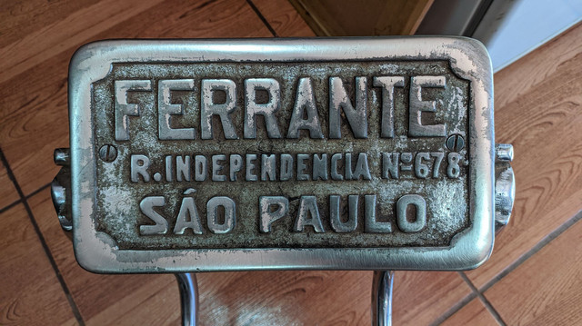 Cadeira de barbeiro Ferrante - Foto 3