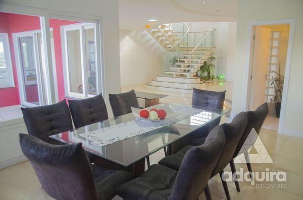 Casa em condomínio com 4 quartos no Villagio Del Tramonto - Bairro Estrela em Ponta Grossa - Foto 6