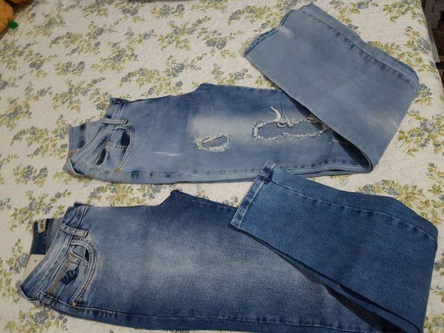 *Desapego* calças de marca n 38 - Foto 6