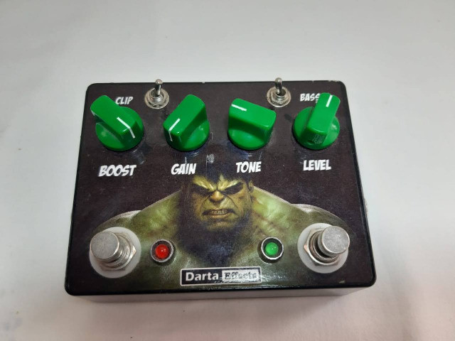 Pedal Overdrive TS8 style - Foto 5