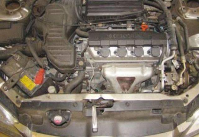 Motor e câmbio Civic 2005