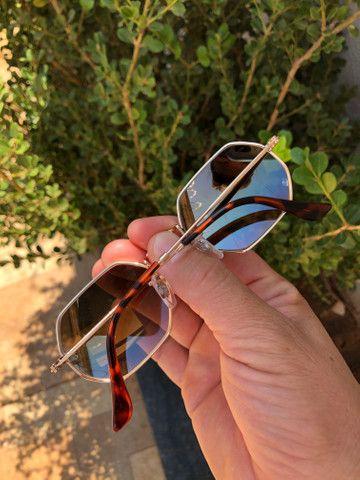 Óculos de Sol, Rayban octagonal - Foto 3