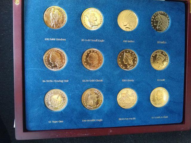 Coleção completa da moeda americanas - Foto 2