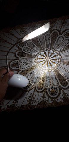 Mini luminária Led flexível
