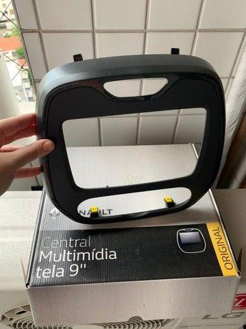 Moldura para multimídia com tela de 9'' Polegadas - Renault Captur - Foto 2