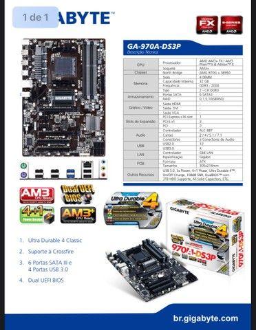 Placa Mãe/Motherboard Gigabyte Ultra Durable - Foto 3