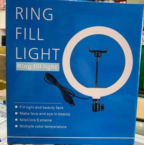 Ringlight 26 polegadas, 2 metros e dez - Foto 2