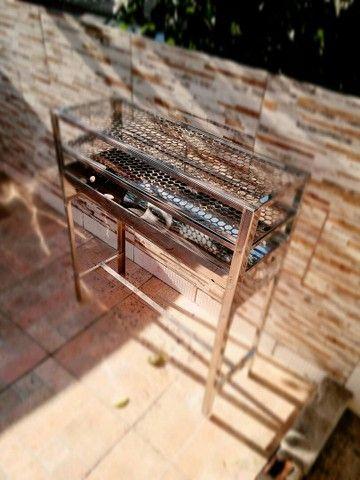 Churrasqueira Espetinho Inox - Foto 2