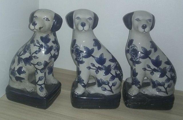 Cachorros em porcelana - Foto 2
