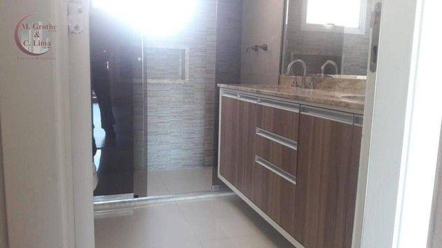 Apartamento com 4 dormitórios para alugar, 245 m² por R$ 6.500,00/mês - Jardim das Colinas - Foto 8