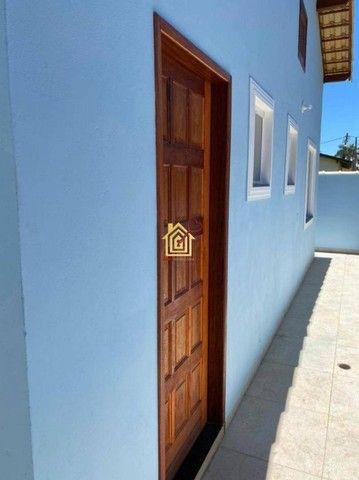 JR-Linda casa lado praia, com 3 quartos área gourmet e piscina. - Foto 3