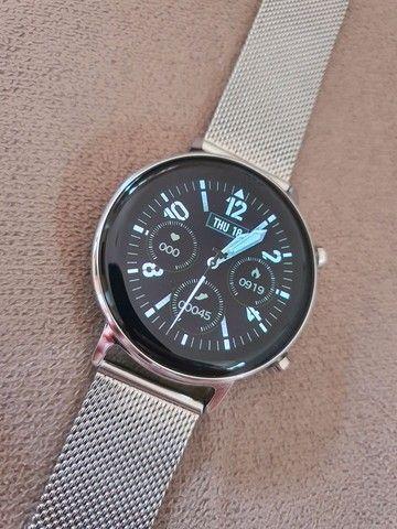 Smartwatch Lemfo SG3 Edição Branca - Foto 3