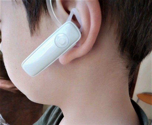 100% novos Fone De Ouvido Bluetooth Headset M165 - Foto 2