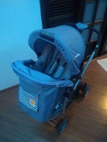 Carrinho bebê conforto Kiddo semi novo - Foto 4