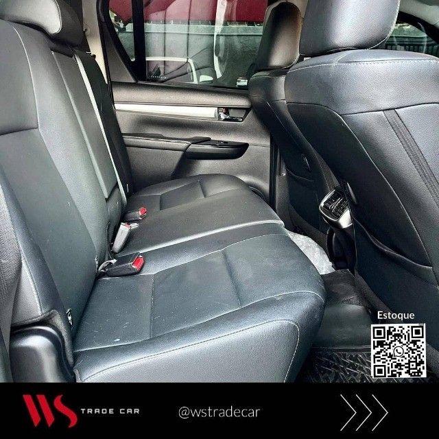 Hilux CD Srv 2021 Diesel 4x4 automática. Blindada  - Foto 9