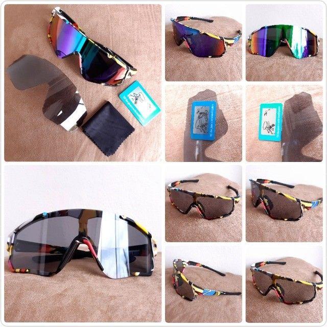 Óculos de sol Ciclismo Fotocromatico Polarizado