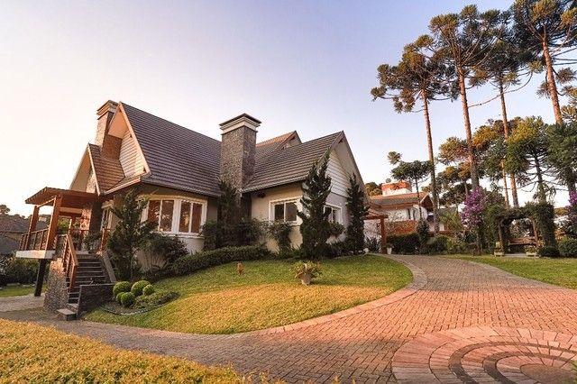Casa com 5 dormitórios à venda, 400 m² por R$ 4.700.000,00 - Aspen Mountain - Gramado/RS - Foto 4