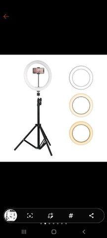 Ring Light led completo portátil (O MELHOR PREÇO) - Foto 2