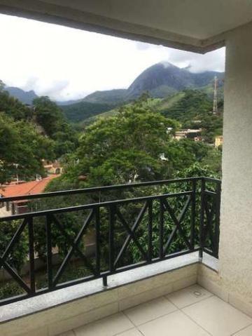 Cenário de Monet 2 Quartos 1 Vaga Piscina Andar Alto em Correas Petrópolis RJ - Foto 6