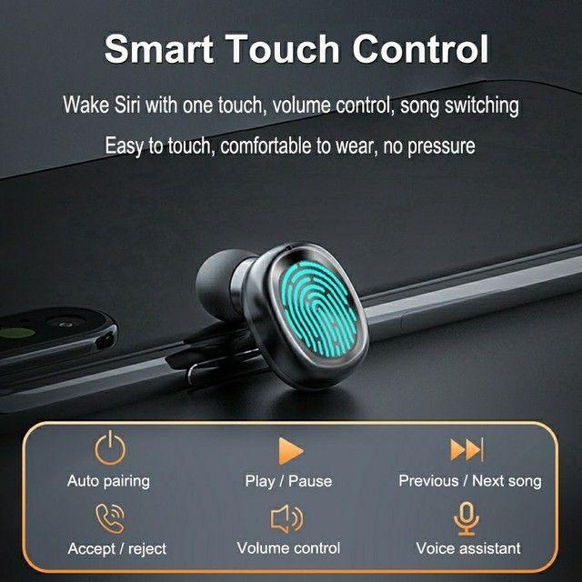 Fone de Ouvido B9 TWS sem Fio com Bluetooth 5 0 / Headset Esportivo / Headset Gamer
