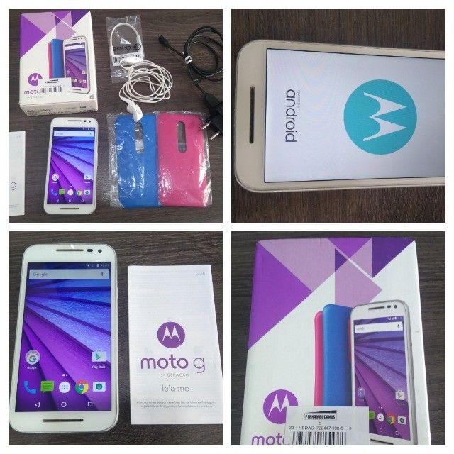 Smartphone Moto G? (3ª Geração) Colors 16GB XT-1543 - Branco - Foto 6