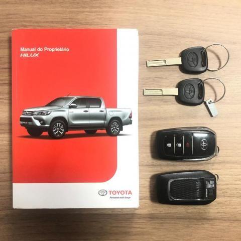 Hilux CD SRX 4x4 2.8 Diesel Aut. 2018 Revisada Concessionaria - Foto 9