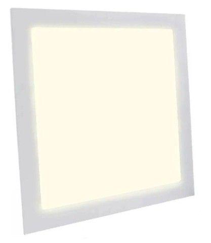 Plafon Led Quadrado Embutir 25w Branco Neutro 4000k 30cm x30cm