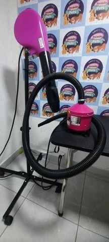 Soprador e secador para banho e tosa.