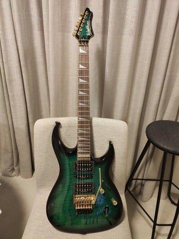 Guitarra Washburn CS740 Chicago series, linda! - Foto 6